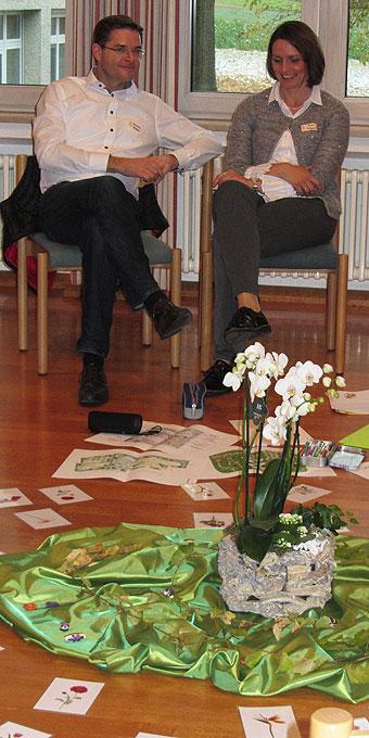 Referenten-Ehepaar Beate und Christian Glöggler (Foto: SAL)