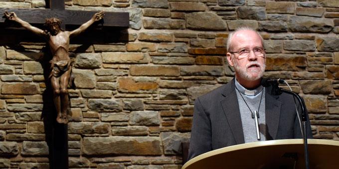 Pater Antonio Bracht, Rektor des Urheiligtums und Mitglied der internationalen Leitung der Gemeinschaft der Schönstatt-Patres (Foto: Kröper)