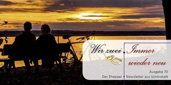 """Ehepaar-Newsletter 10/2018 """"Wir zwei - Immer wieder neu"""" (Foto: pixabay.com)"""