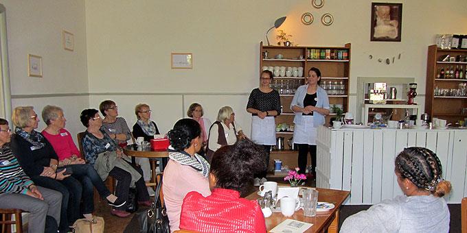 """Café Kentenich: """"Der Einsatz der Jungen Frauen fasziniert"""" (Foto: SAL)"""
