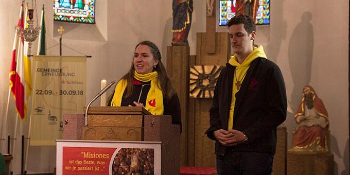 Misiones 2018 im Jossgrund: Zeugnis geben vom Glauben (Foto: J Müller)