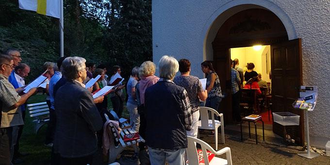 Bündnisfeier am Schönstatt-Heiligtum in Trier (Foto: Brück)