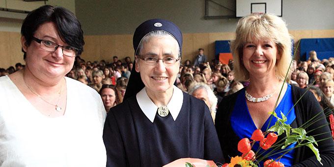 Der Schulelternbeirat bedankt sich (Foto: Sch.Marienschule)