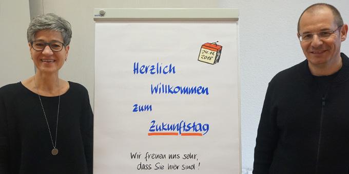 Sie hatten keine leichte Aufgabe: die Zukunftsweisenden aus Dietershausen: Sabine und Martin Merdes (Foto: Fella)