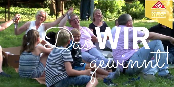 Ein Film holt sie zurück: die frohe Stimmung beim Familienfestival in Schönstatt (Foto: Familienfestival)