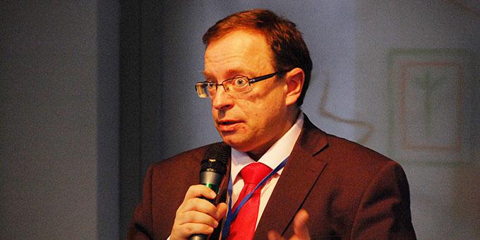 Jaroslav Sebek, Historiker und Mitglied des Instituts für Geschichte der Akademie der Wissenschaften der Tschechischen Republik (Foto: Brehm)
