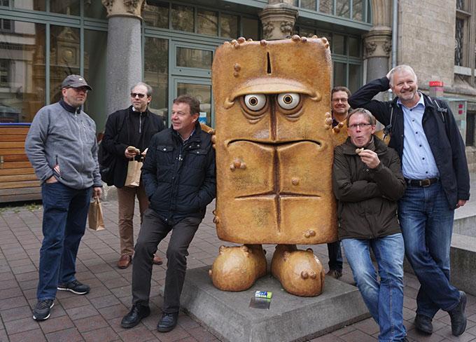 Die Männer und der Bernd (Foto: Fella)