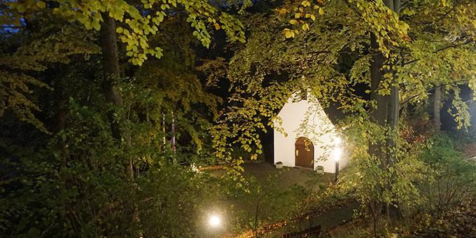 Heiligtum Friedrichroda nach dem nächtlichen Gebet (Foto: Fella)