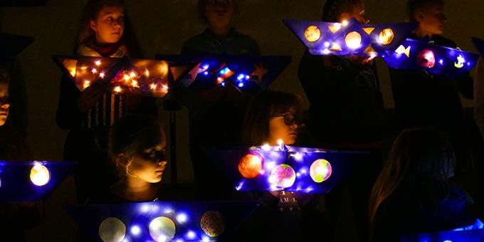 Besondere Stimmung mit Licht (Foto: Schmitz)