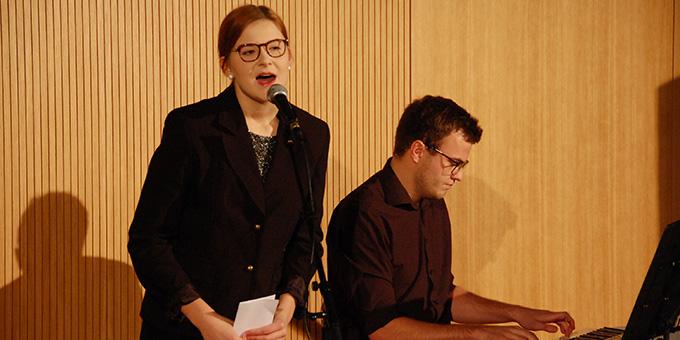 Getauschte Rollen beim Duo Viano (Foto: Brehm)