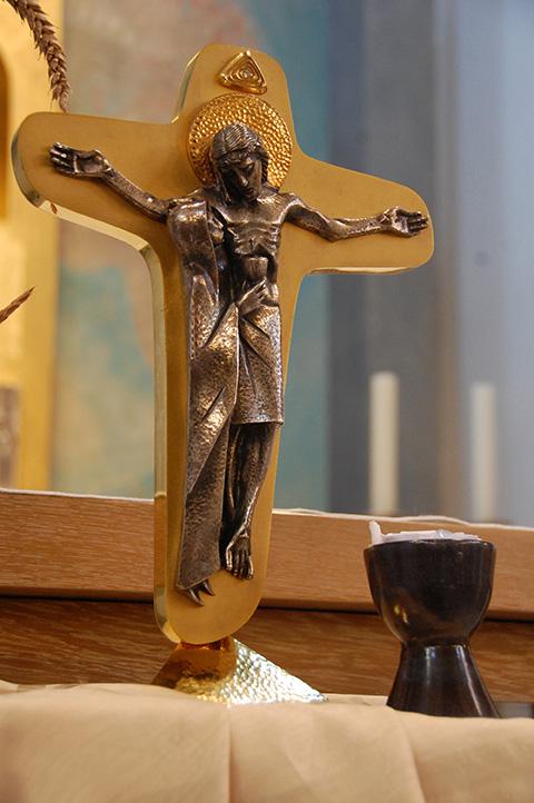 Kreuz der Einheit und Kelch der Gemeinschaft des Schönstatt-Krankenliga (Foto: privat)
