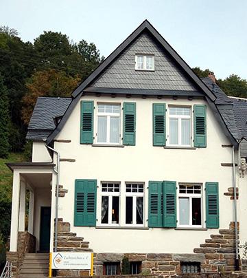Das Lichtzeichen Haus in Schönstatt / 56179 Vallendar, Höhrer Str. 93 - eine mögliche Anlaufstelle für schwangere Frauen in Konfliktsituationen (Foto: Lichtzeichen eV)