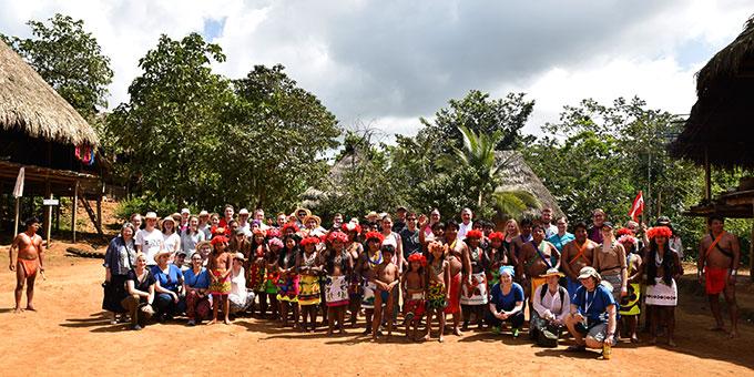 Besuch beim Stamm der Emberas (Foto: Ula Cyganik)