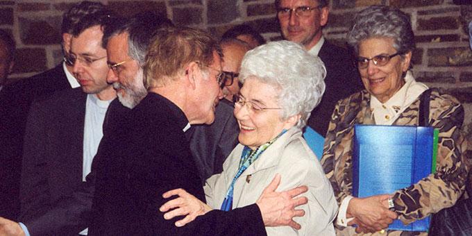 Pater Marmann war mit Chiara Lubich herzlich verbunden (Foto: Brehm)