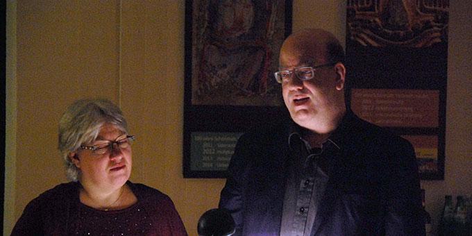 Ehepaar Marielle und Michael Defrancesco beim Impuls (Foto: Brehm)