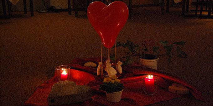 """Ein """"Herzballon"""" steht fürs Thema (Foto: Brehm)"""