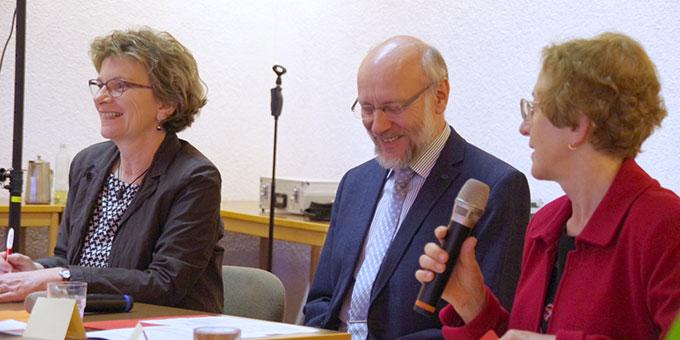 Ehepaar Maria (l) und Dr. Ulrich Wolff, Institut der Schönstattfamilien, haben das Treffen im vergangenen Jahr initiiert (Foto: Neiser)