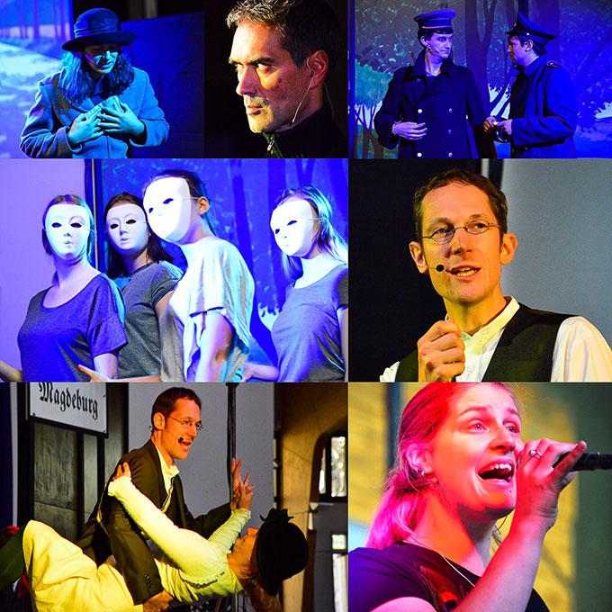 """Impressionen aus dem Musical """"Gefährlich - Franz Reinisch"""" (Foto: Timo Michael Kessler)"""
