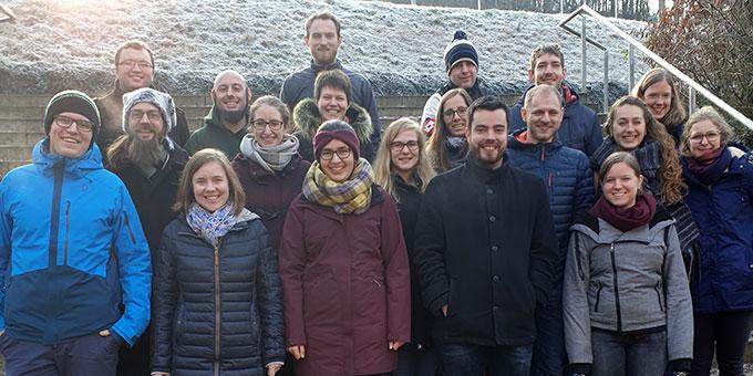 """Die Teilnehmerinnen und Teilnehmer des ersten Treffens """"Junge Erwachsene Schönstatts"""" (JES) (Foto: Häffner)"""