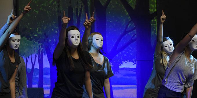 Szene aus dem Reinisch-Musical (Foto: Kröper)