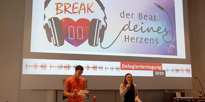 Maria Gerber und Benedikt Herkommer sprechen über die NdH 2019 (Foto: Brehm)
