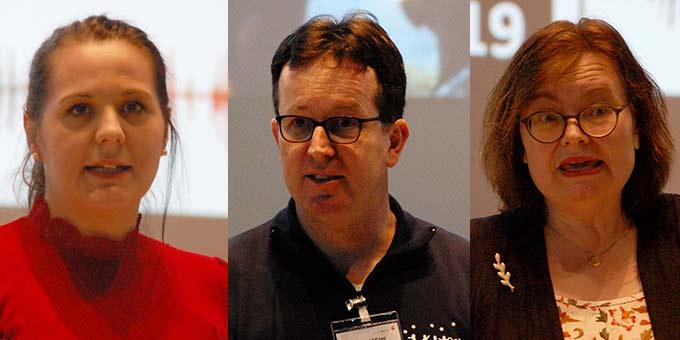 Andrea Wehner, Harald M. Knees, Andrea Evers (Foto: Brehm)