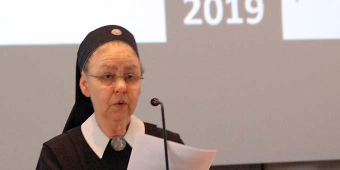 Schwester M. Cacilda Becker, internationale Koordination (Foto: Brehm)