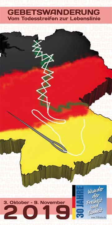 Cover Flyer Gebetswanderung (Foto: https://3-oktober.de/)