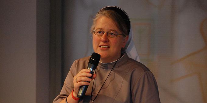 Sr. Dr. Nicole Grochowina, Christusbruderschaft Selbitz (Archivfoto: Brehm)