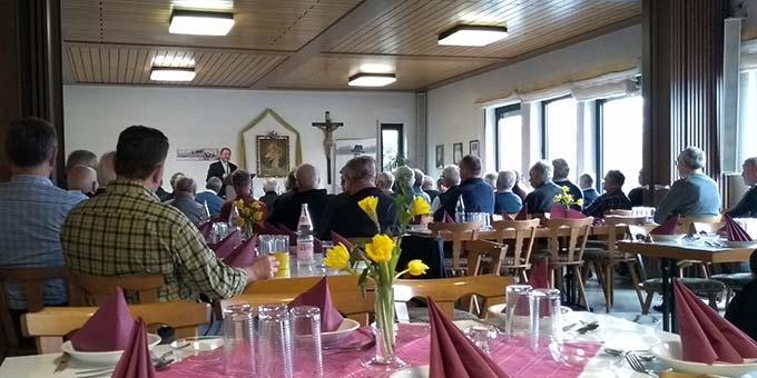 Männertag im Schönstatt-Zentrum Walddstetten (Foto: Glückert)