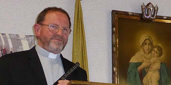 Referent war Pfarrer Josef Treutlein, Schönstatt-Institut Diözesanpriester, Wallfahrtsseelsorger am Käppele in Würzburg (Foto: Glückert)
