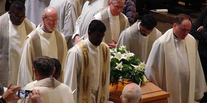 Beerdigungsfeier für Pater Dr. Michael Johannes Marmann (Foto: Neiser)