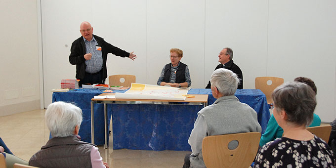 Zukunftsvisionen für Belmonte - Pfarrer Heinz-Martin Zipfel (Foto: Autor)