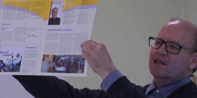 Präses Achim Wenzel blickt zurück auf die Stabübergabe vor 6 Jahren (Foto: Fella)