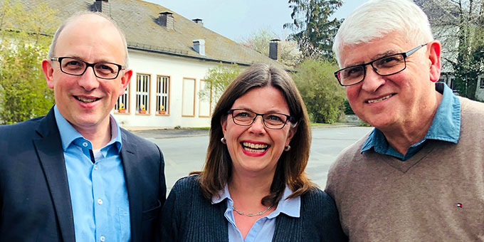 Die neue Führungsriege des MarriageWeek Deutschland e.V.: Andreas Frész (Vorsitzender), Susanne Mockler (Stellvertreterin), Wolfang Schmidt (Finanzen) (Foto: MarriageWeek.de)