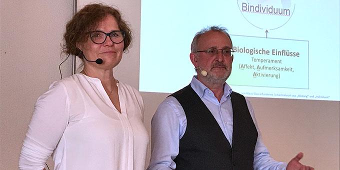 Gisela und Klaus Glas, Referenten beim Absolventenkongress der Akademie für Ehe und Familie im Frühjahr 2019 (Foto: Defrancesco)