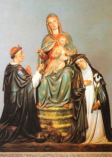 Vor diesem Gnadenbild erlebte Josef Kentenich die Marienweihe in Oberhausen (Foto: Archiv)