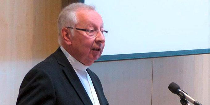 Dr. Peter Wolf, Geistlicher Leiter des Schönstattzentrums in Oberkirch, hielt beim Männertag den Vortrag (Foto: Michael Bouren)