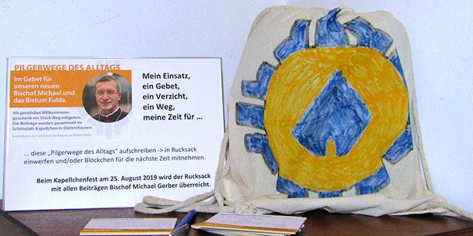 Pilgerwege des Alltags - geistliches Willkommensgeschenk und Unterstützung für Bischof Gerber (Foto: Gehrlein)
