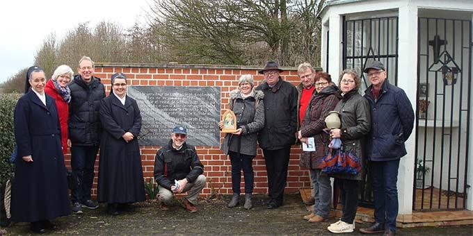 Calonne-sur-la-Lys: Gedenkstätte am Ort der Lebenshingabe von Josef Engling (Foto: PrPH)