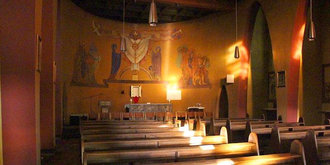 Kirche im Bundesheim, Schönstatt, Vallendar (Foto: Contini)