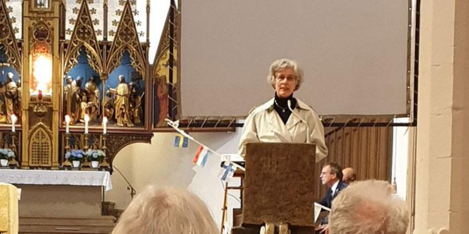Predigt: Schwester M. Vernita Weis, Schönstatt (Foto: Markus Meyer)