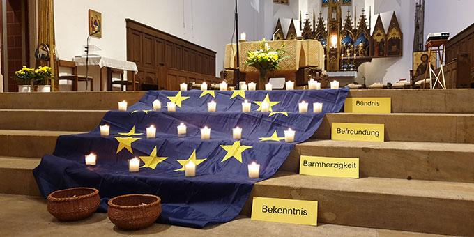 Gebet für Europa in Freiburg (Foto: Markus Meyer)
