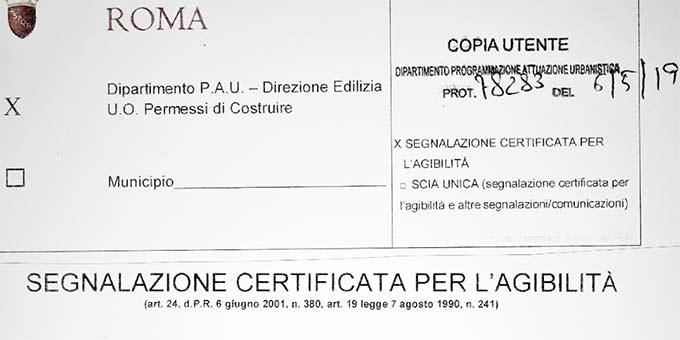 """Internationales Schönstattzentrum Belmonte in Rom erhält Zertifikat """"Agibilità – Bewohnbarkeit"""""""