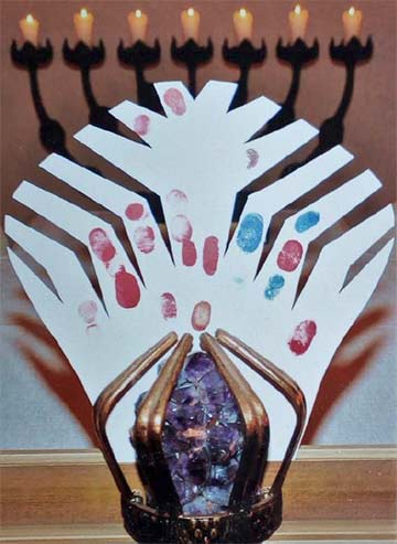 """Die """"Deltakrone"""" für die Gottesmutter (Foto: Zipfel)"""