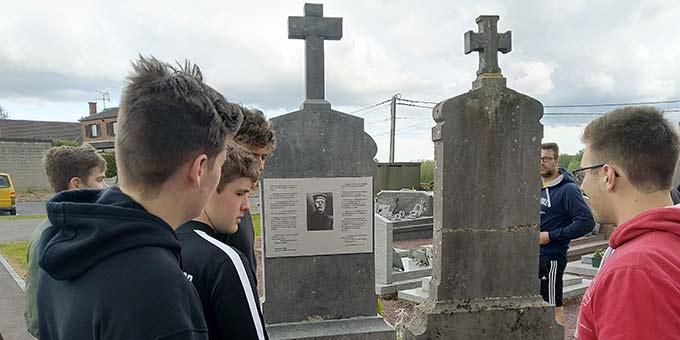 Unter den vielen Toten ist auch Josef Engling, ein Mitgründer Schönstatts (Foto: David Faust)