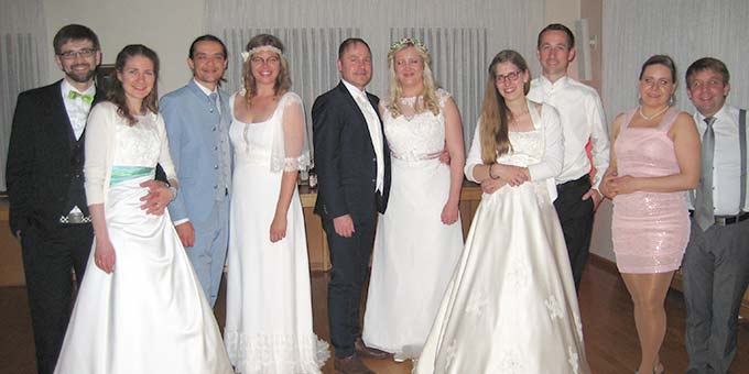 """""""Hochzeits-Revival"""" - ein besonderes Erlebnis im Schönstattzentrum Dietershausen (Foto: Büdel)"""