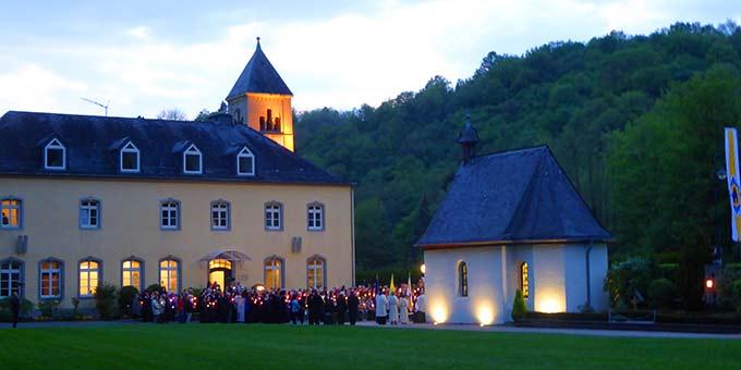 Eröffnung des Marienmonates Mai am Urheiligtum in Schönstatt, Vallendar (Foto: Pilgerzentrale)