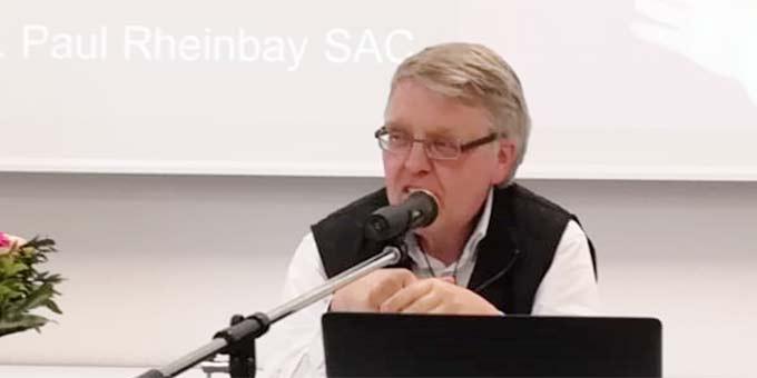 Prof. Dr. Paul Rheinbay SAC sprach über seinen Mitbruder Heinrich Schulte (Foto: Archivfoto)