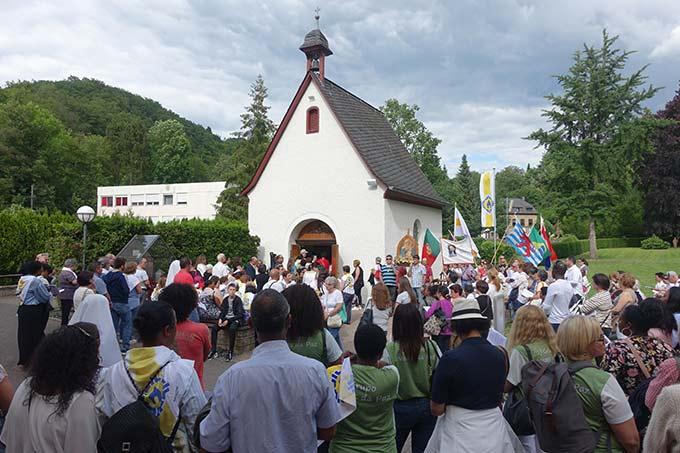 Aussendung der Pilger vom Urheiligtum aus (Foto: Pilgerzentrale)